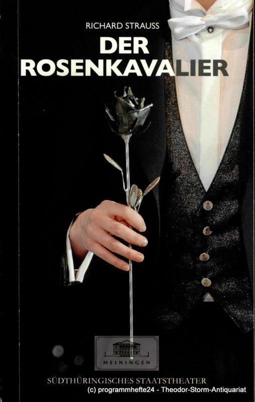 Das Meininger Theater, Südthüringisches Staatstheater, Ansgar Haag, Diane Ackermann Programmheft Der Rosenkavalier. Premieren am 4. & 6. April 2014 im Großen Haus