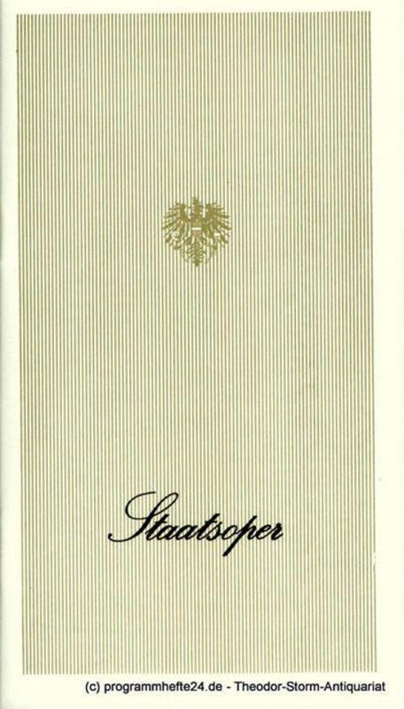 Österreichischer Bundestheaterverband, Direktion der Staatsoper Wien, Lothar Knessl Programmheft La Traviata. Oper nach Alexandre Dumas von Francesco Maria Piave. Staatsoper Saison 1971 / 72