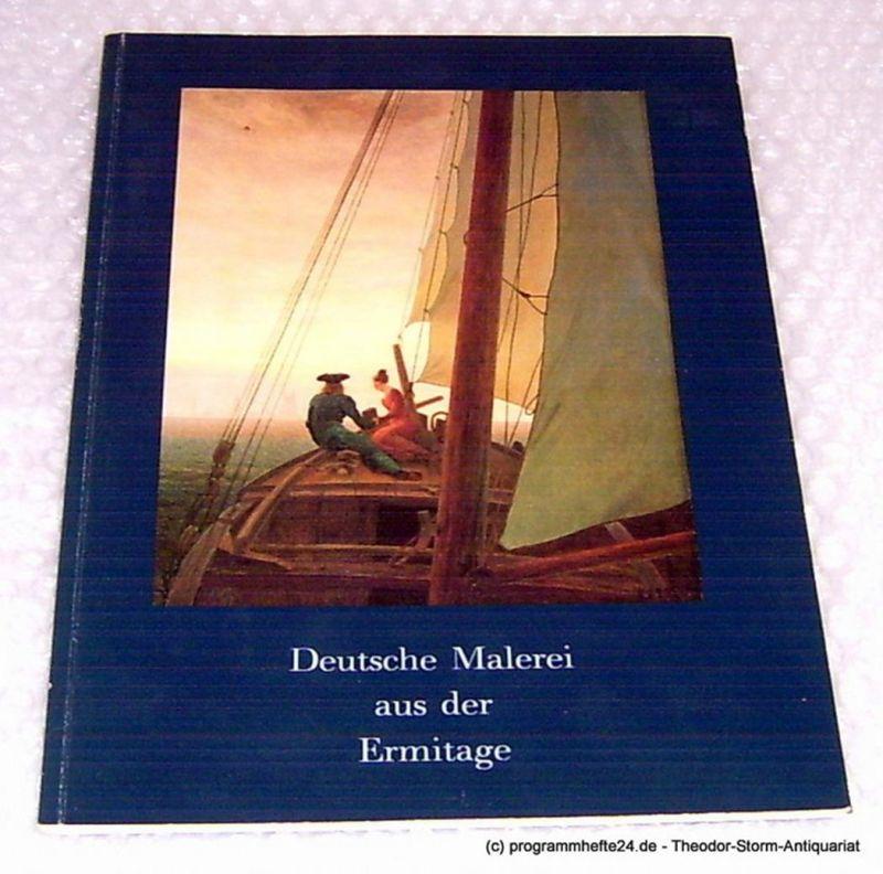 Leppien Helmut R. Deutsche Malerei aus der Ermitage. Leningrad-Tage in Hamburg. Hamburger Kunsthalle 27. Mai bis 12. Juli 1987