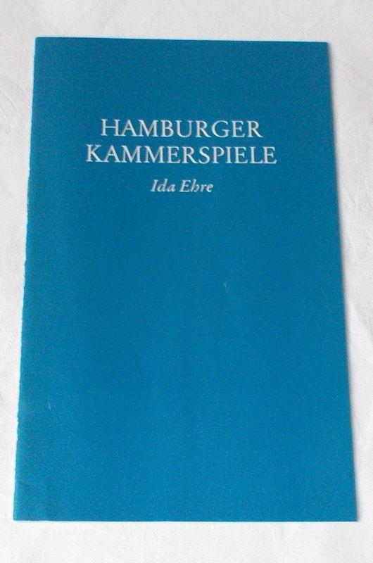 Hamburger Kammerspiele, Ida Ehre, Jan Aust Programmheft PAPIERMÜHLE. Lustspiel von Georg Kaiser. Premiere 8. Februar 1980. 5. Heft der Spielzeit 1979 / 80