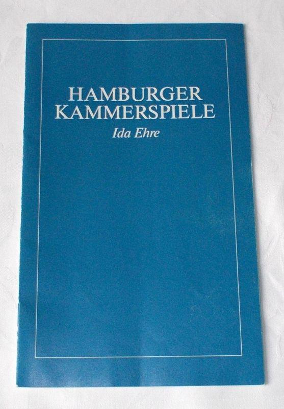Hamburger Kammerspiele, Ida Ehre, Jan Aust Programmheft Der Vater. Tragödie von August Strindberg. Premiere 19. September 1985. 2. Heft der Spielzeit 1985 / 86
