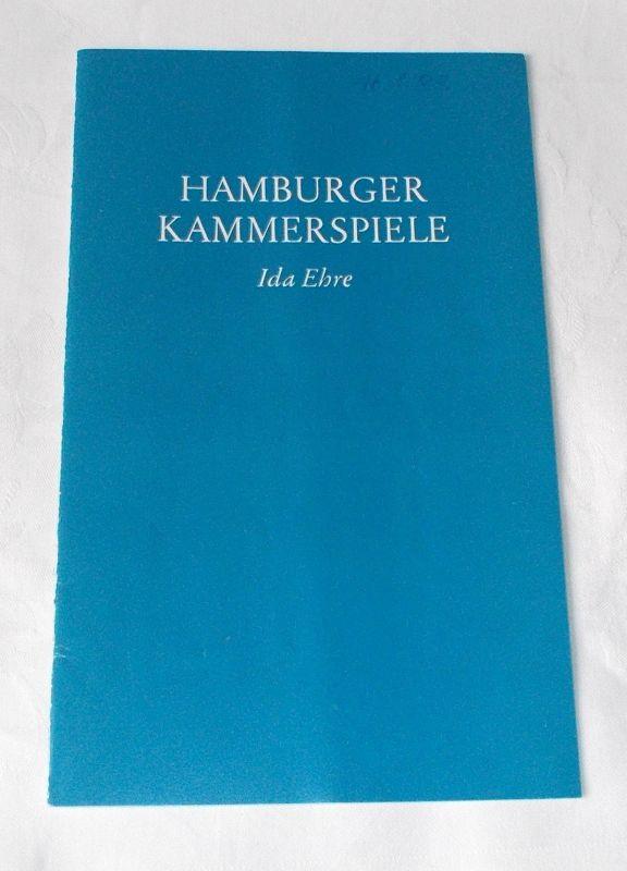 Hamburger Kammerspiele, Ida Ehre, Jan Aust Programmheft Der Untergang. Tragödie von Walter Jens. Uraufführung am 6. Januar 1983. 5. Heft der Spielzeit 1982 / 83