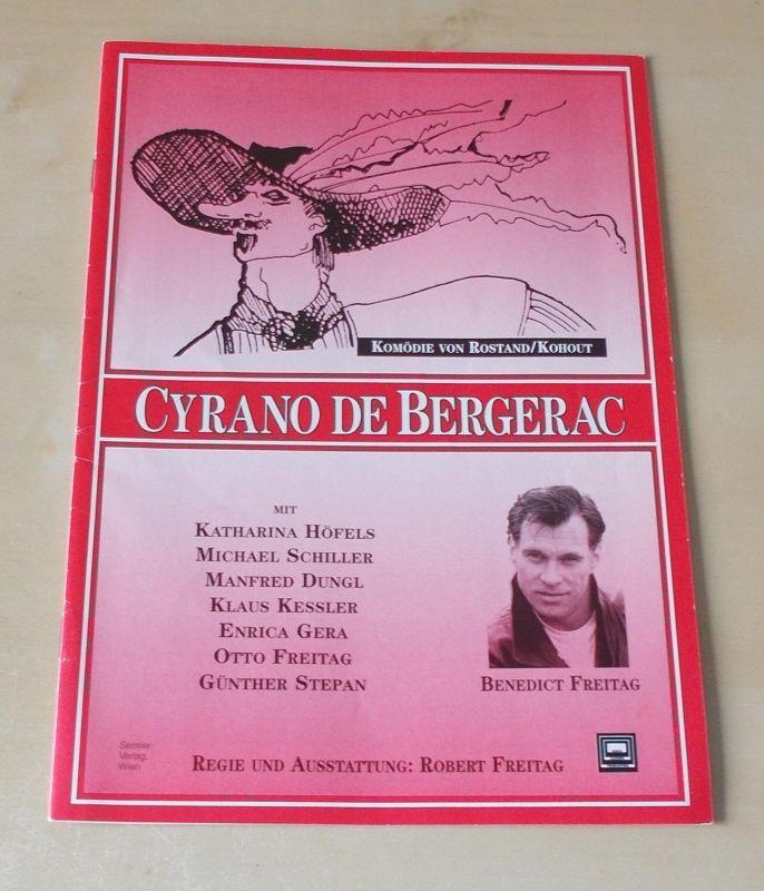 Erich Kuhnen Theater Produktion Berlin Programmheft Cyrano de Bergerac. Komödie von Rostand / Kohout