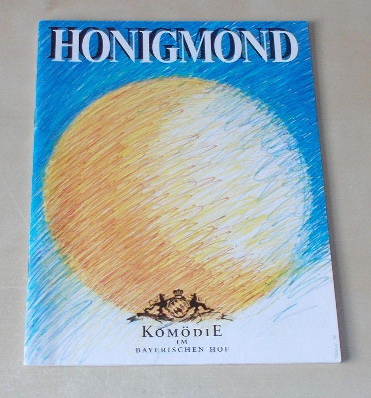 Komödie im Bayerischen Hof Programmheft Honigmond von Gabriel Barylli