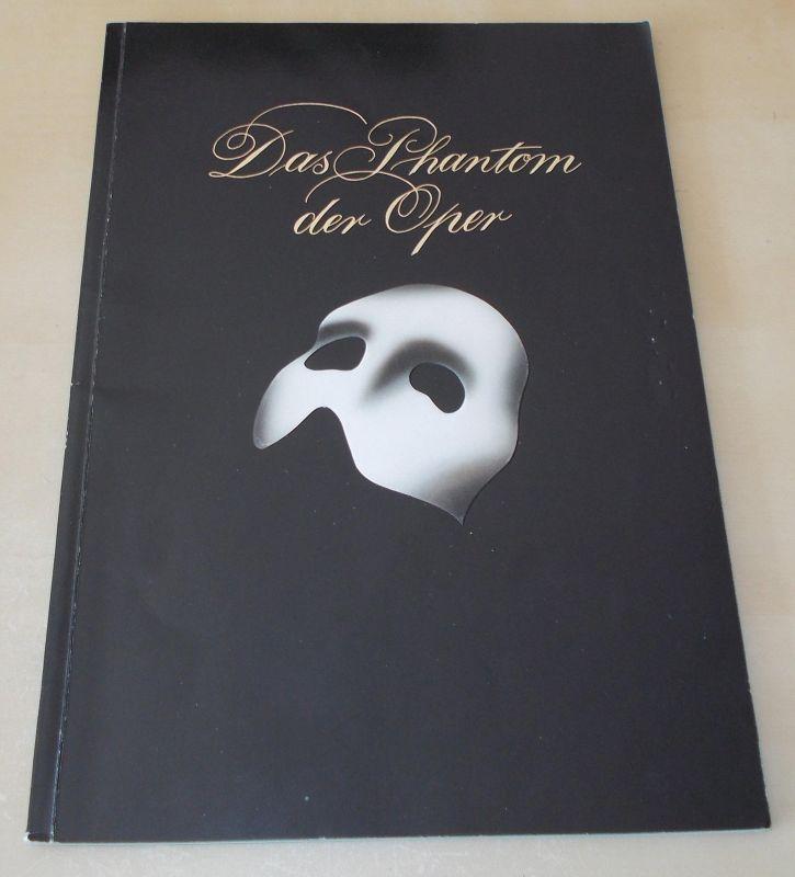 Friedrich Kurz, Neu Flora Hamburg Programmheft Das Phantom der Oper. Mit Widmung von Hartwig Rudolz, signiert