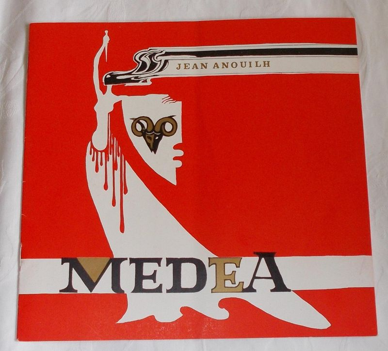Das Ensemble, Peter Jacob, Ellen Schwiers Programmheft MEDEA. Drama von Jean Anouilh