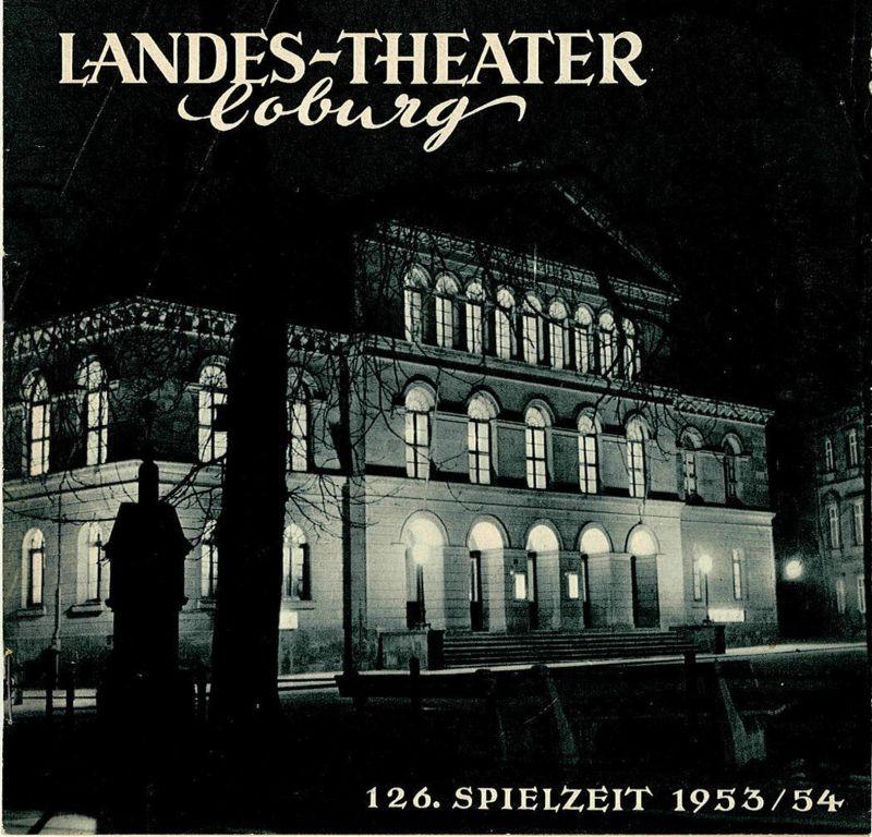 Landes-Theater Coburg, Curt Wahl Programmheft THEATER Komödie von Guy Bolton und Somerset Maugham 126. Spielzeit 1953 / 54 Heft 25