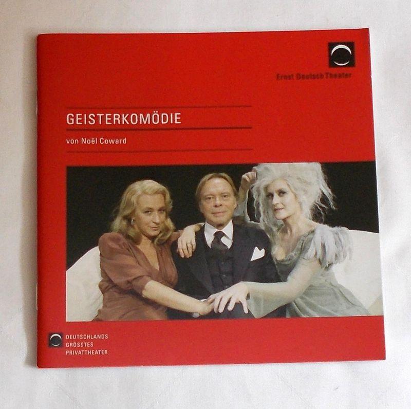 Ernst Deutsch Theater, Isabella Vertes-Schütter, Stefan Kroner Programmheft GEISTERKOMÖDIE von Noel Coward. Premiere 27. November 2008. Spielzeit 2008 / 2009