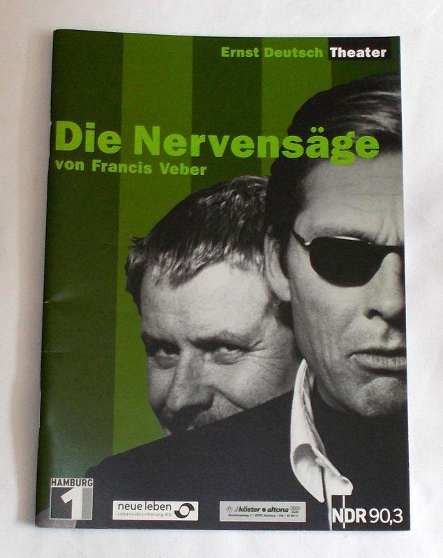 Ernst Deutsch Theater, Isabella Vertes-Schütter, Wolfgang Borchert Programmheft Die Nervensäge von Francis Weber. Premiere 22. Mai 2003