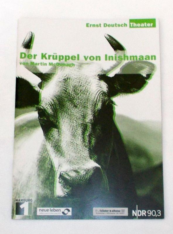 Ernst Deutsch Theater, Isabella Vertes-Schütter, Jens-Peter Löwendorf Programmheft Der Krüppel von Inishmaan vom Martin McDonagh. Premiere 2. Oktober 2003