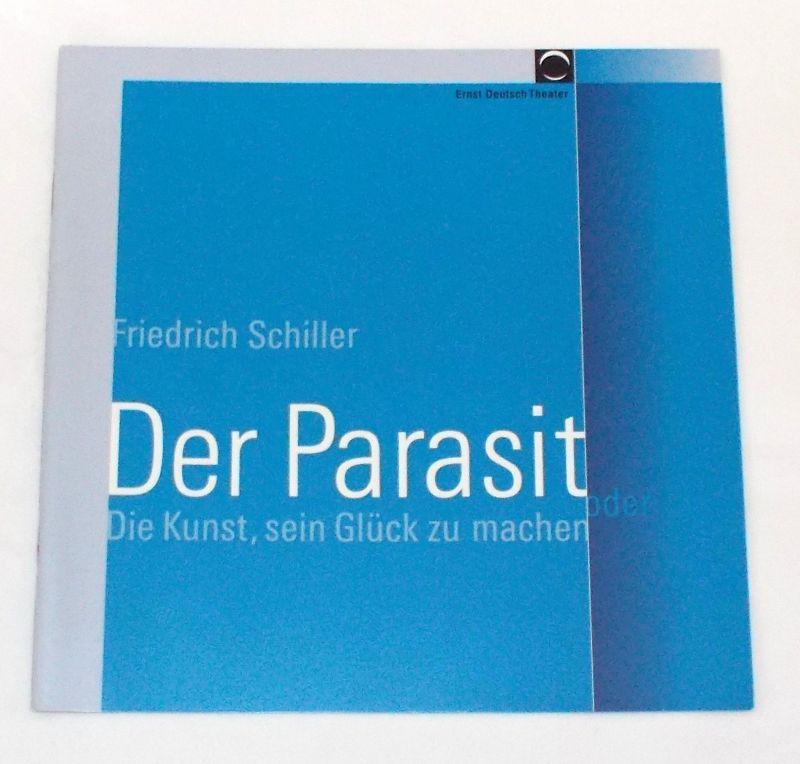 Ernst Deutsch Theater, Volker Lechtenbrink Programmheft Der Parasit von Friedrich Schiller. Premiere 18. August 2005