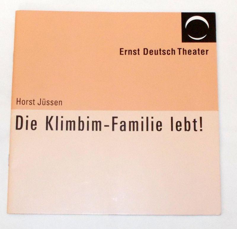 Ernst Deutsch Theater, Volker Lechtenbrink Programmheft Die Klimbim-Familie lebt ! von Horst Jüssen. Premiere 26. Mai 2005