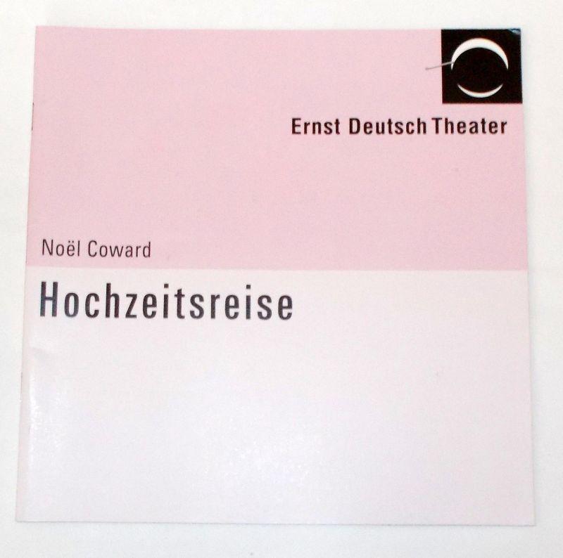 Ernst Deutsch Theater, Volker Lechtenbrink Programmheft Hochzeitsreise von Noel Coward. Premiere 11. November 2004
