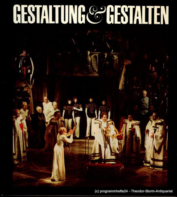 Staatstheater Dresden, Horst Seeger, Annegudrun Heilmann, Mathias Rank Gestaltung und Gestalten. Staatstheater Dresden 1980