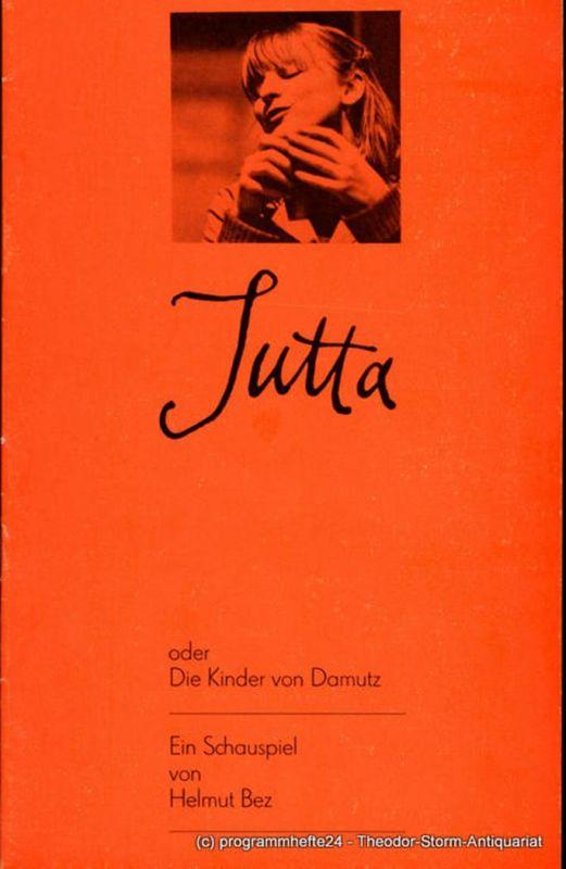 Staatstheater Dresden Kleines Haus, Ute Baum, Ekkehard Walter Programmheft Jutta oder Die Kinder von Damutz. Premiere am 23. März 1980