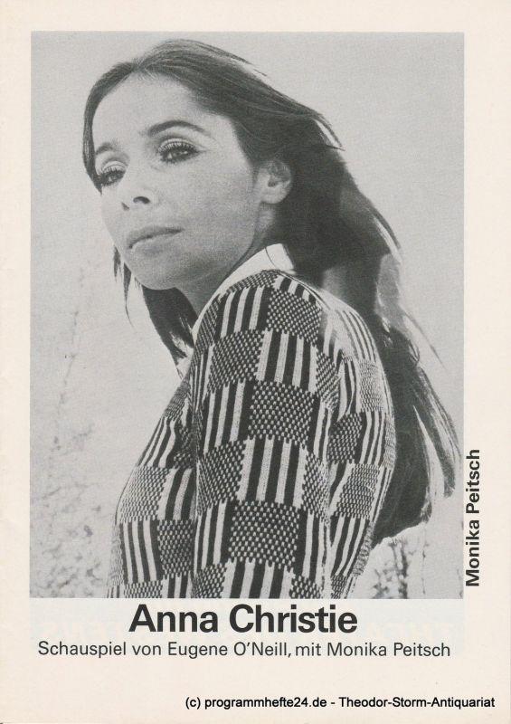 Schweizer Tournee-Theater Programmheft Anna Christie. Schauspiel von Eugene O'Neill