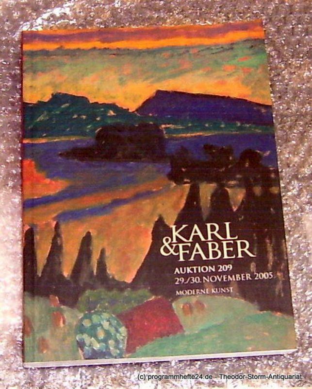 Karl & Faber Auktion 209 29./30. November 2005 Moderne Kunst