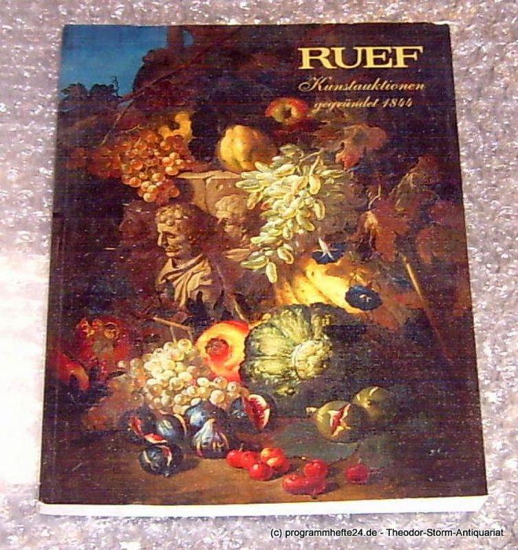 Ruef Hugo Alte und Moderne Kunst. 508. Auktion 23. März 2006