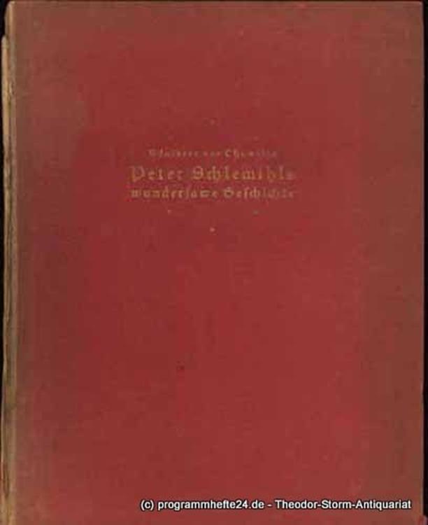 Chamisso Adelbert von Peter Schlemihls wundersame Geschichte