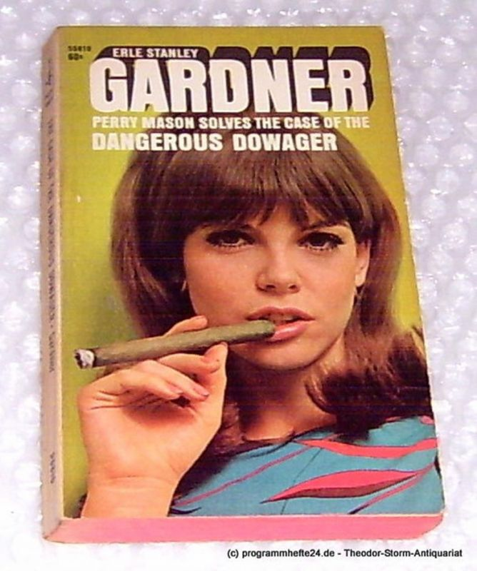 Gardner Erle Stanley The Case of the dangerous dowager
