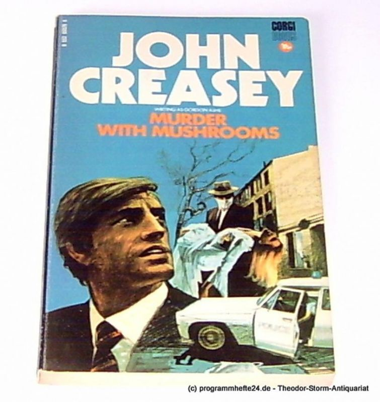 Creasey John ( Gordon Ashe ) Murder with Mushrooms