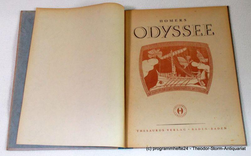 Homer, Voss Johann Heinrich Homers Odyssee