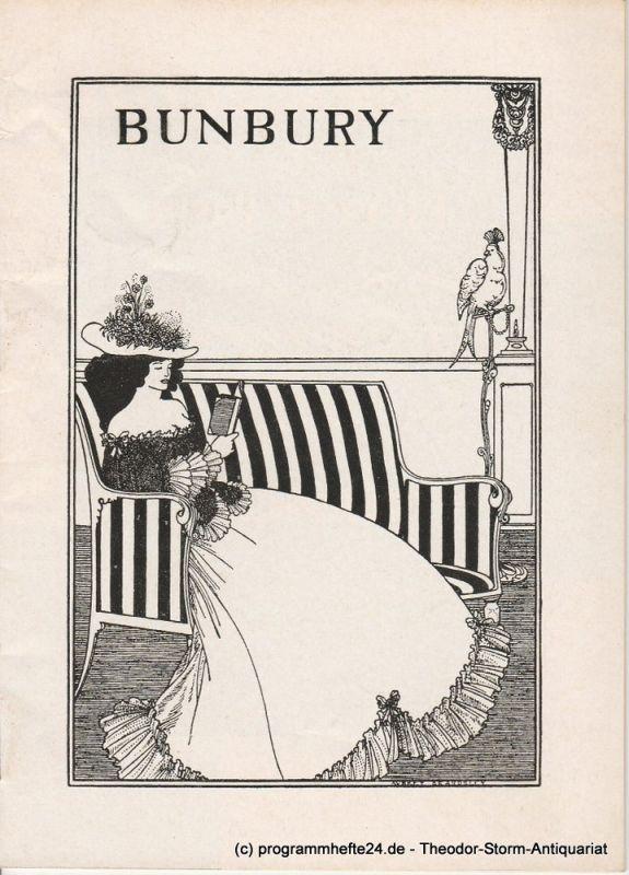Renaissance-Theater Programmheft Bunbury oder Die Kunst Ernst zu sein