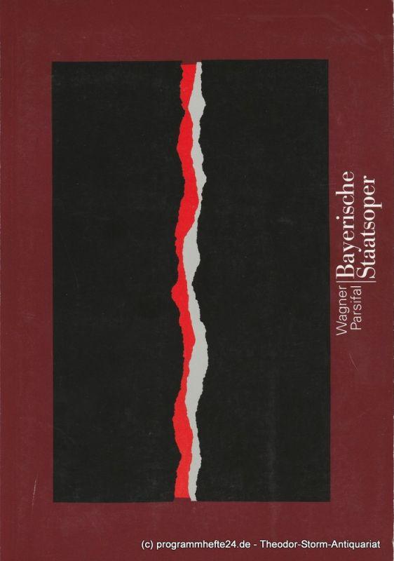 Bayerische Staatsoper, Peter Jonas, Hanspeter Krellmann Programmheft Parsifal. Ein Bühnenweihfestspiel von Richard Wagner. Programmbuch Spielzeit 1997 / 98
