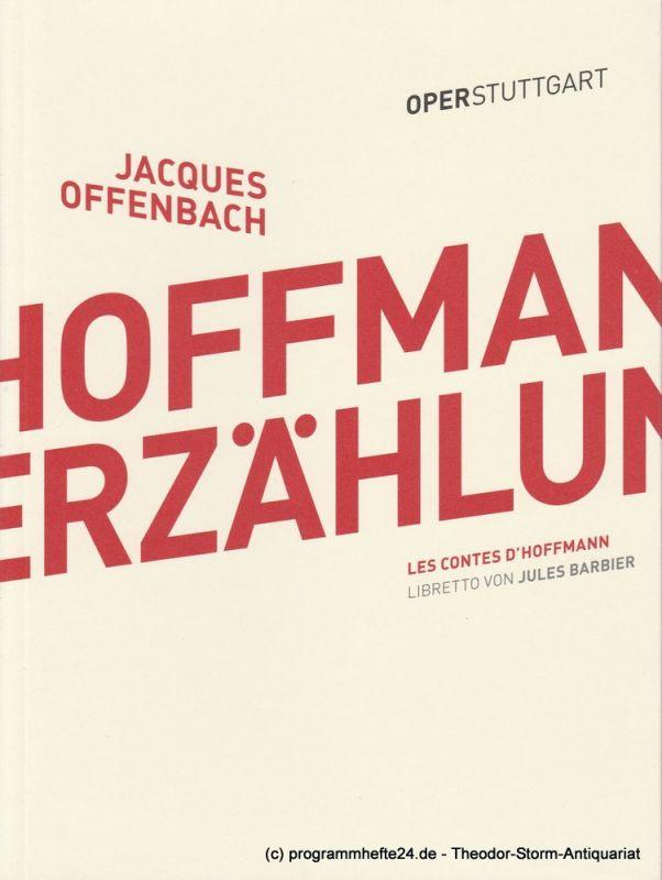 Oper Stuttgart, Malte Ubenauf Programmheft Hoffmanns Erzählungen. Premiere 19. März 2016