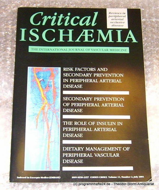 Schoop W. Critical Ischaemia. The international Journal of Vascular Medicine Volume 11 Number 2 Juli 2001