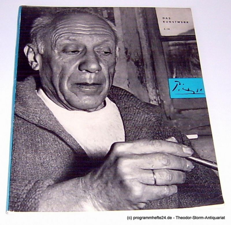 Zahn Leopold Das Kunstwerk Heft 3 1955 / 56. 3 / IX. Eine Zeitschrift über alle Gebiete der bildenden Kunst. Begründet von Woldemar Klein