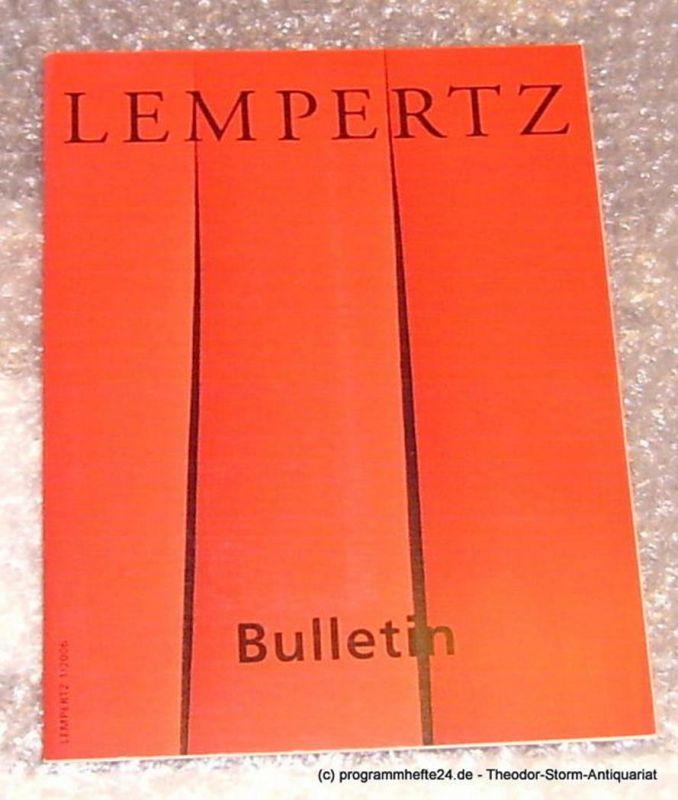 Lempertz Lempertz Bulletin 1 / 2006