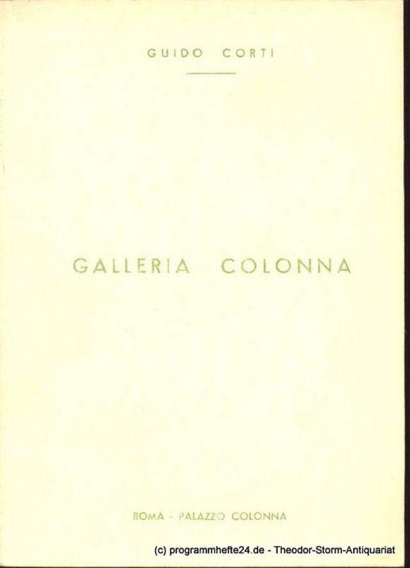 Corti Guido Galleria Colonna