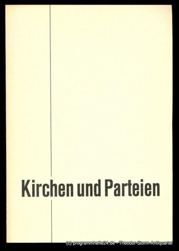 Leber Georg, Vorstand der SPD, Redaktion Wolf Koch Kirchen und Parteien
