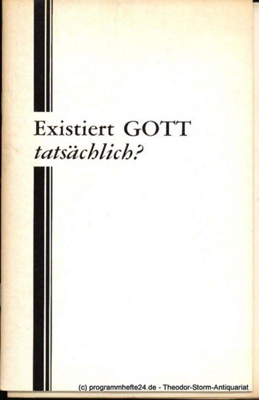 Armstrong Herbert W. Existiert Gott tatsächlich?