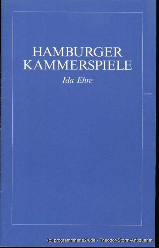 Simon Neil, Nordmann Neidhardt Brooklyn Memoiren Brighton Beach Memoirs Premiere 21. August 1985 Programmheft Blätter der Hamburger Kammerspiele 1. Heft der Spielzeit 1985/86