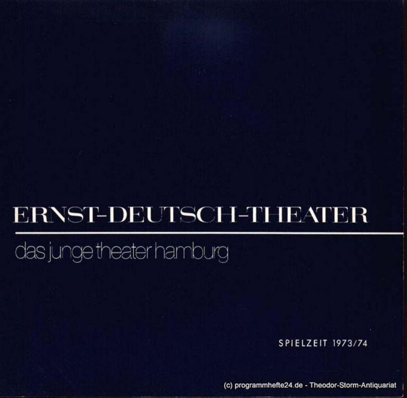 Leonard Hugh, Spier Wolfgang, Simmon Henry E. Programmheft Hotel zum guten Ton. Das junge Theater Hamburg. Premiere 16. Mai 1974