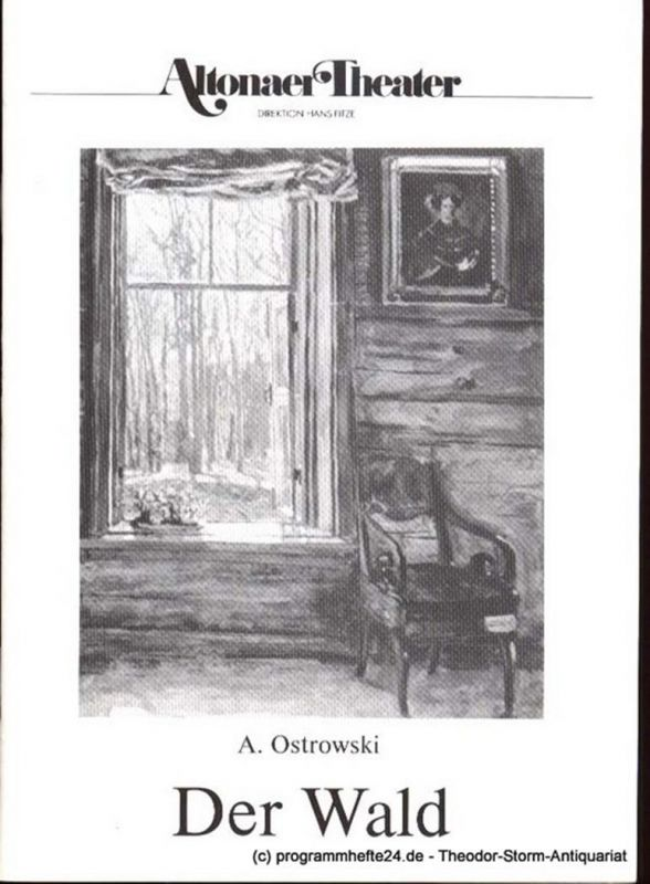Ostrowski A. Der Wald. Programmheft 1 Spielzeit 1986 / 87