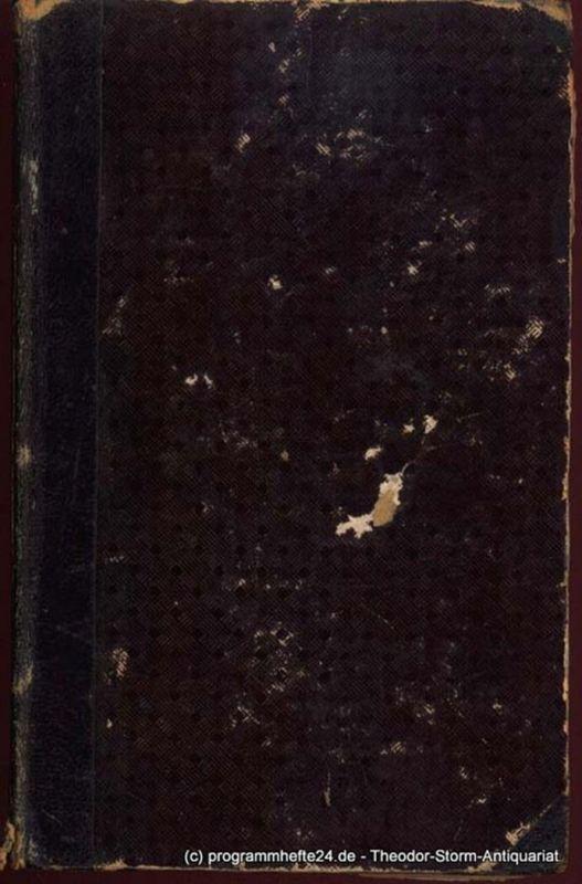 Shakespeare William Shakspeare´s dramatische Werke übersetzt von August Wilhelm Schlegel und Ludwig Tieck. Neunter Band