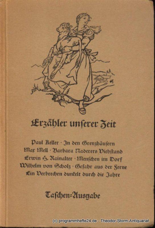 Ramlow Rudolf ( Hrsg. ) Erzähler unserer Zeit 303