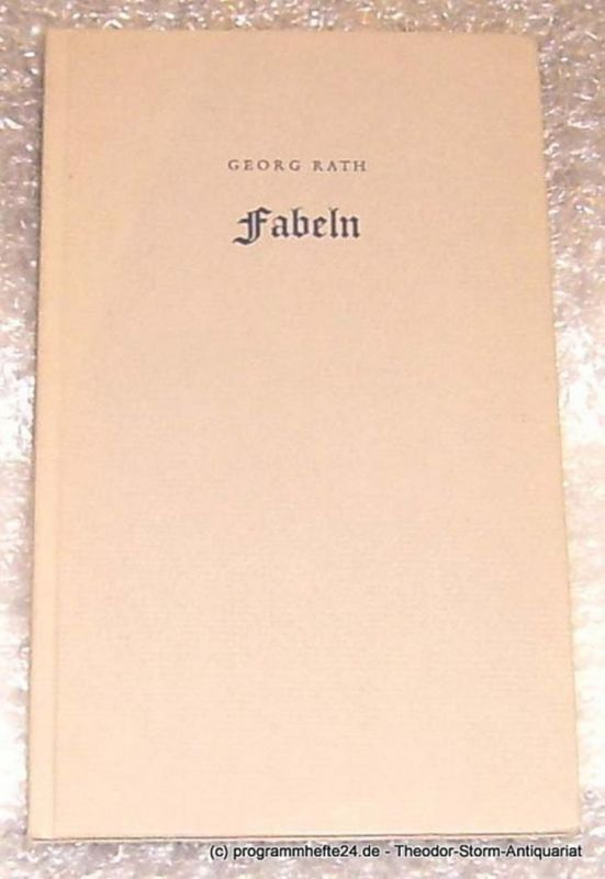 Rath Georg Fabeln