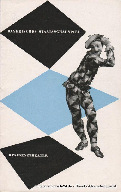 Bayerisches Staatsschauspiel, Residenztheater, Karl Andreas Wirz, Walter Haug Programmheft Kapitän Brassbounds Bekehrung. März 1953