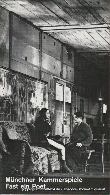 Münchner Kammerspiele, Hans-Reinhard Müller, Wolfgang Zimmermann Programmheft Fast ein Poet von Eugene O 'Neill. Premiere 14. April 1977