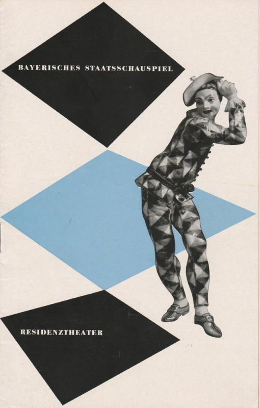 Bayerisches Staatsschauspiel, Residenztheater, Kurt Horwitz, Andreas Wirz Programmheft Der Bürge. Drama von Paul Claudel Spielzeit 1953 / 54 Heft 7
