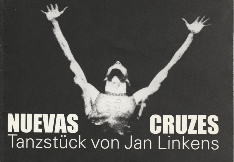 Komische Oper Berlin, Albert Kost, Karin Schmidt-Feister Programmheft Tanztheater NUEVAS CRUZES. Premiere 15. September 1995