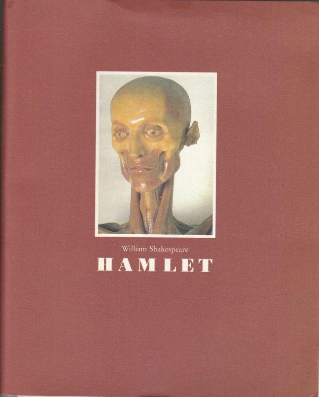 Theater Der Kreis, Ursula Voss Programmheft HAMLET von William Shakespeare. Premiere 22. Mai 1990 Wiener Festwochen Messepalast