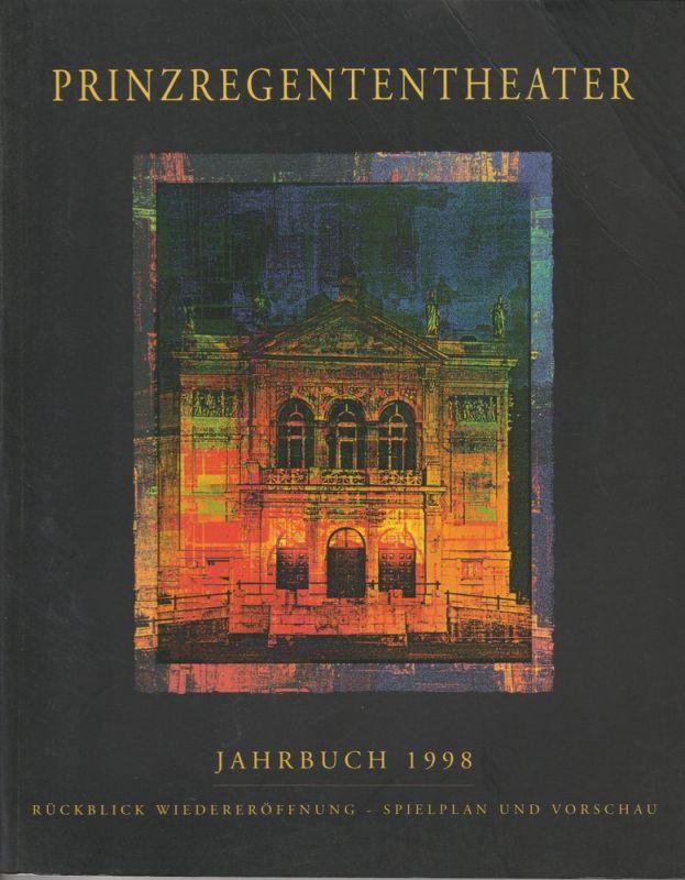 Bayerische Theaterakademie August Everding im Prinzregententheater, August Everding, Robert Braunmüller, Sven Precht Prinzregententheater Jahrbuch 1998