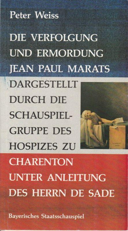 Münchner Kammerspiele, Dieter Dorn, Hans-Joachim Ruckhäberle, Wolfgang Zimmermann Programmheft DER PARK von Botho Strauß. Premiere 13. Oktober 1984
