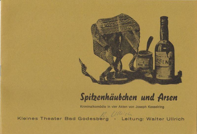 Kleines Theater Bad Godesberg, Walter Ullrich c. Spielzeit 1975 / 76 Heft 5