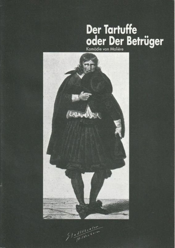 Stadttheater Hildesheim, Martin Kreutzberg, Sabine Göttel Programmheft Der Tartuffe oder Der Betrüger. Premiere 10. Januar 1998 Spielzeit 1997 / 98 Heft 8
